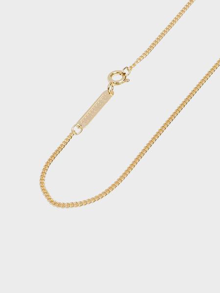 The Boyscouts 50cm Facet Cable Necklace - Gold