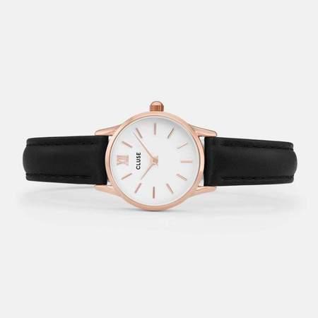 Cluse La Vedette Watch - Rose Gold/Black