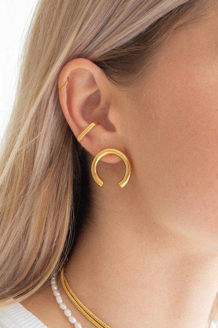 Flash Jewellery Isa Earrings - Gold