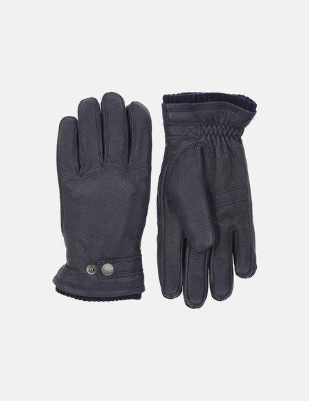 Hestra Utsjo Leather Sport Gloves - Navy Blue