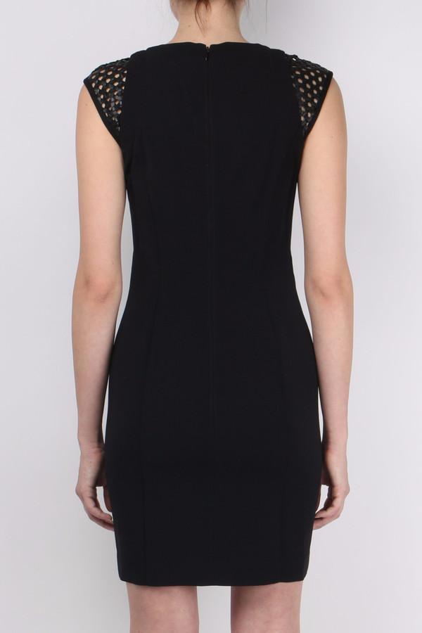 Kempner Cage Shoulder Dress