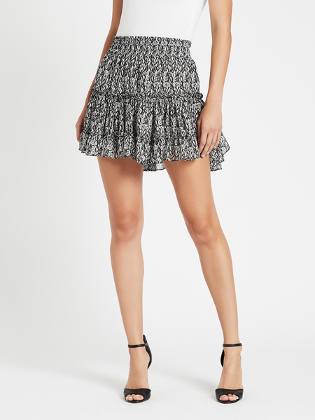Misa Los Angeles Willa Skirt - Black Snake