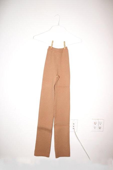 giu giu NONNA X-Long pants - Bandaid
