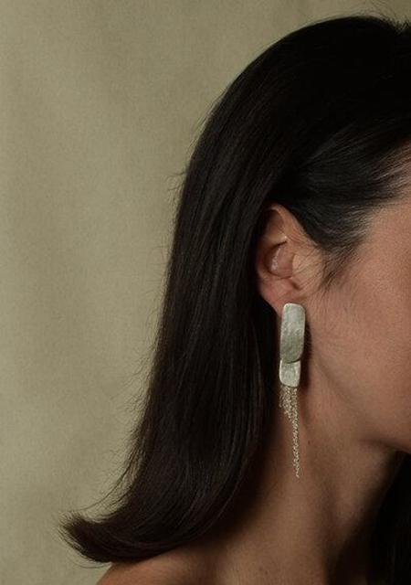 Fripp Column I earrings - SILVER