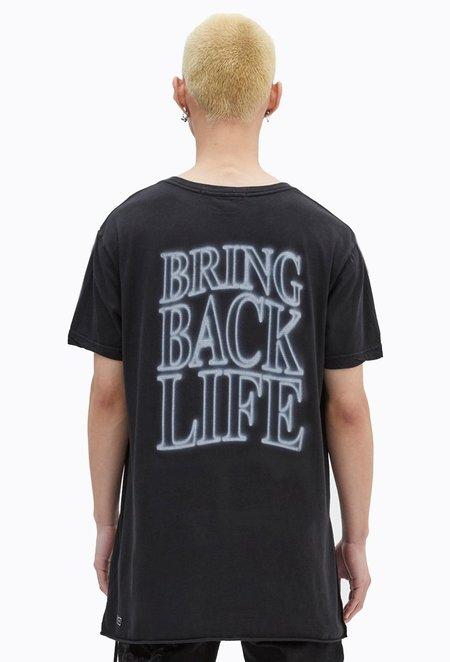 Ksubi Bring Back Life Short Sleeve Tee - Tru Black