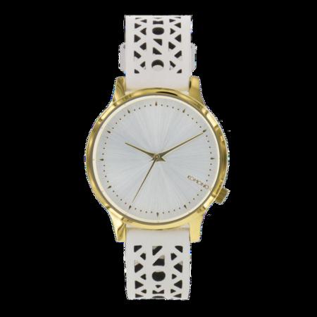 Komono - Estelle Cutout Watch- White