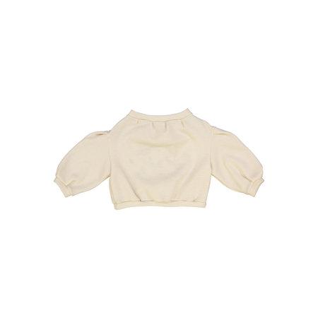 Kids Petit Mioche Organic Embroidered Merino Wool Sweater - Astro