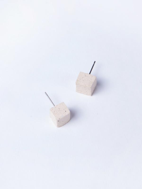 Jujumade Sugar Cube Earrings