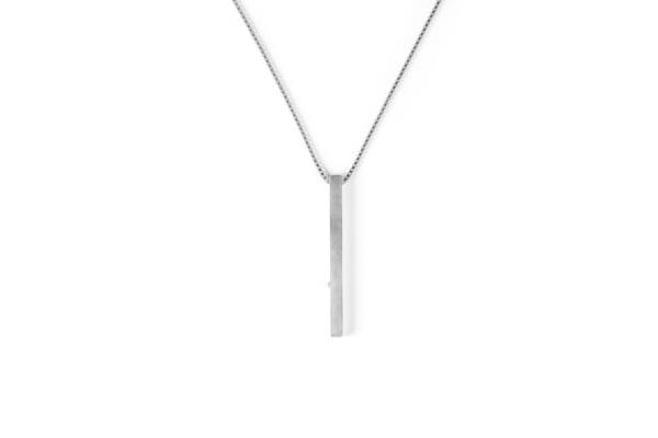 The Sum The Square Diamond Pendant
