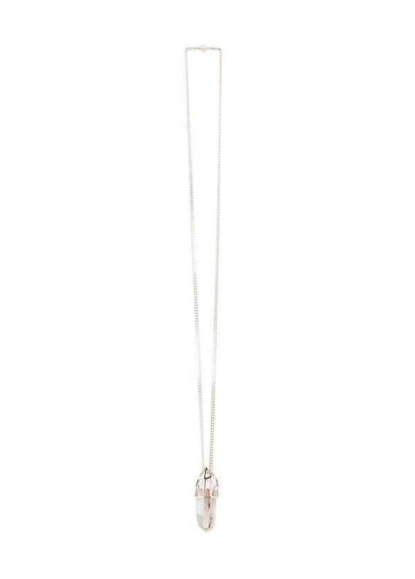 Reason & Madness Jewelry - Caged Quartz Necklace