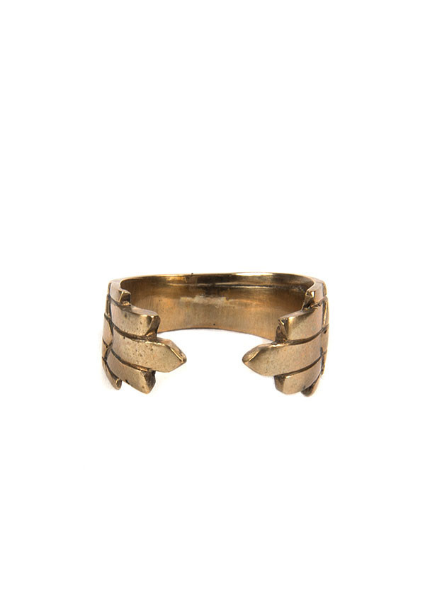 Reason & Madness Jewelry - Divided Arch Ring