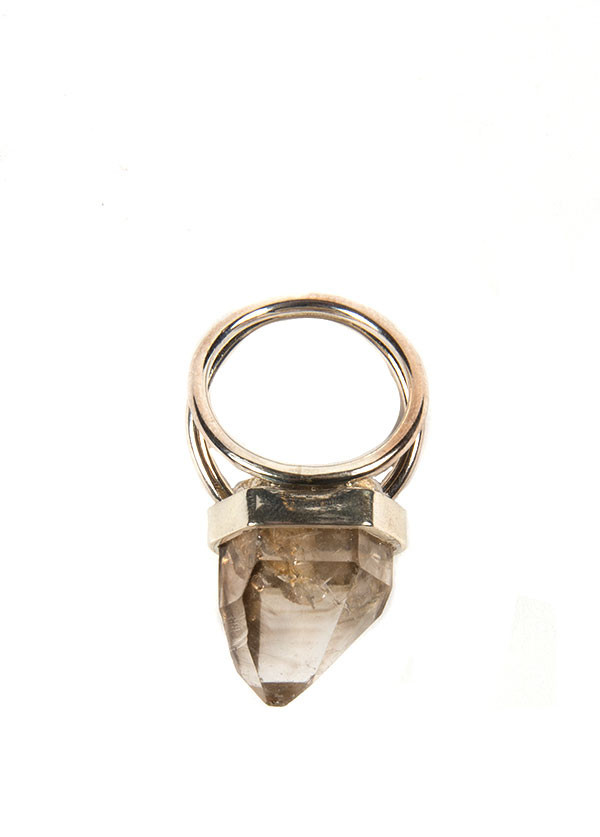 Reason & Madness Jewelry - Large Quartz Ring