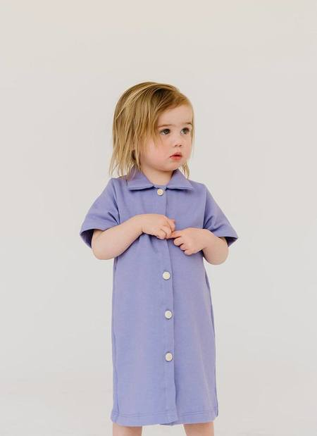 kids James Street Organic Snap Front Dress