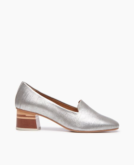 Coclico Eastern Loafer - Silver