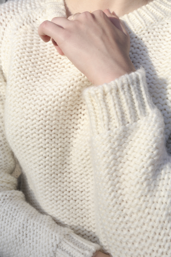 PRE-ORDER - Objects Without Meaning Raglan Sweater, Oat