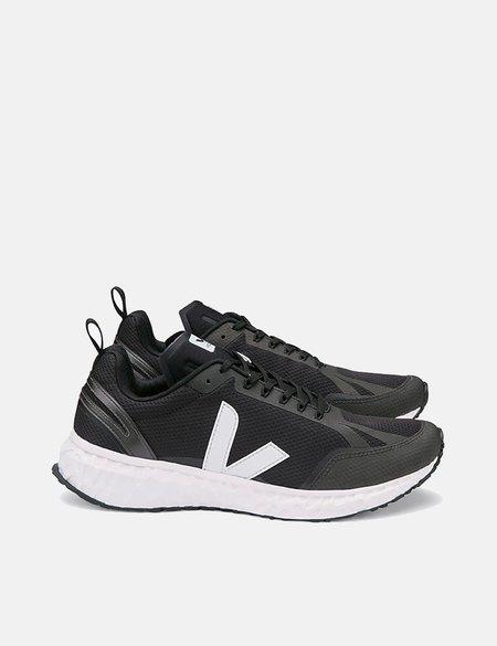 Veja Condor Mesh Running Shoes - Black/White
