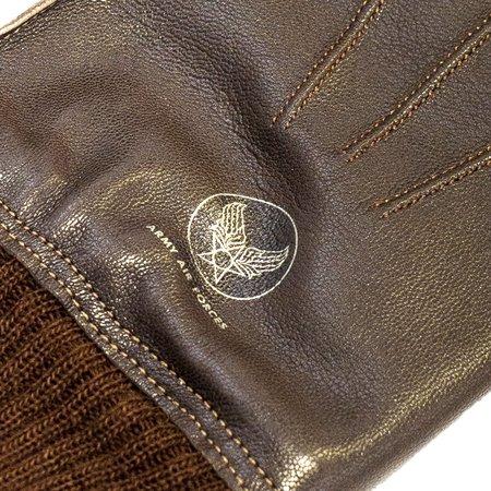 Buzz Rickson's A-10 Gloves - Brown