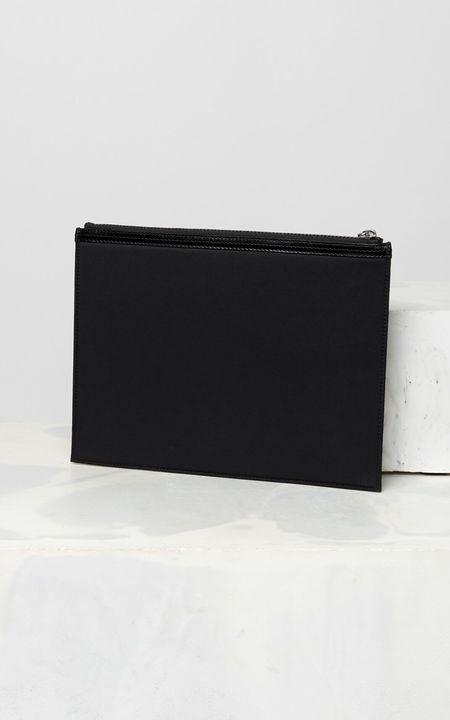 Kenzo Nylon Large Pouch - Black