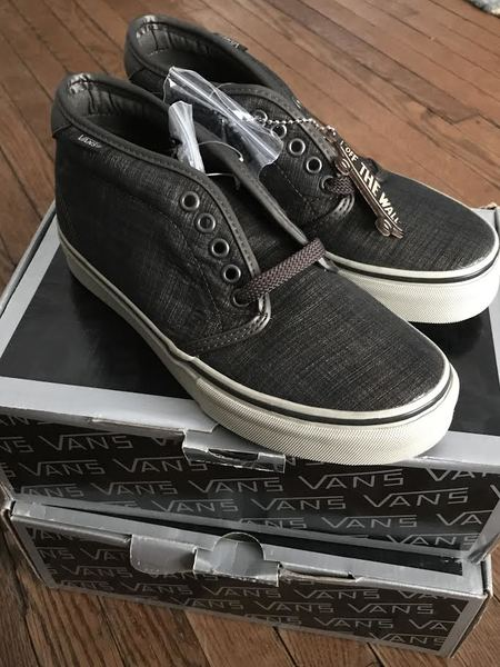 Vans Chukka Boot 69 LX Sneakers - Black Olive/Moonstruck