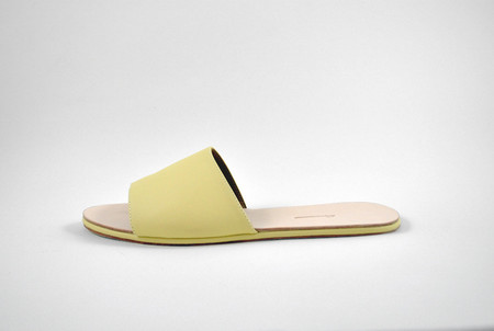 The Palatines Caelum Slide Sandal in Yellow