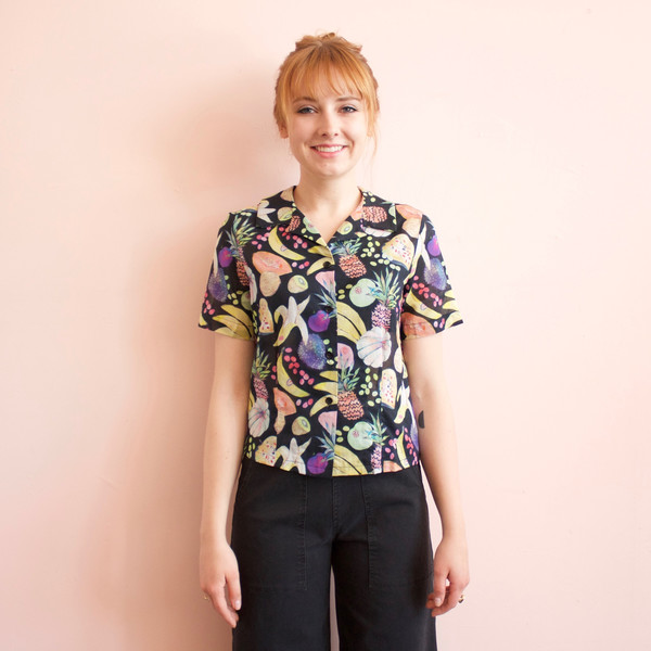 Happy short sleeve top