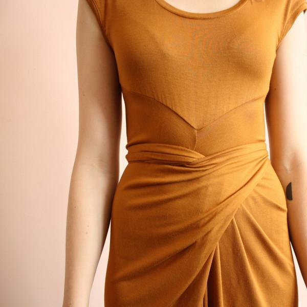 Jill Aiko Yee Northern dress - gold