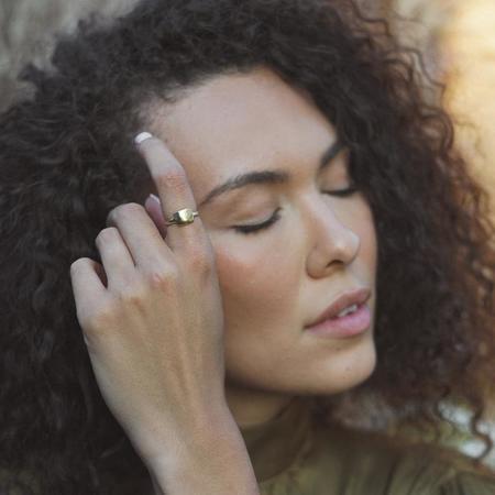 Amanda Hunt Penelope Ring - Bronze