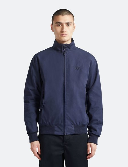 Fred Perry Re-issues Harrington Jacket - Navy Blue