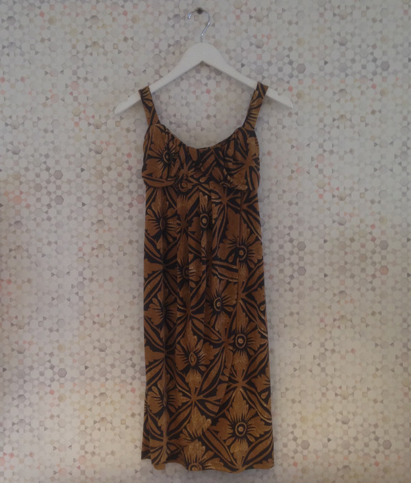 Darling Vintage dvfob DVF Empire Waist Dress