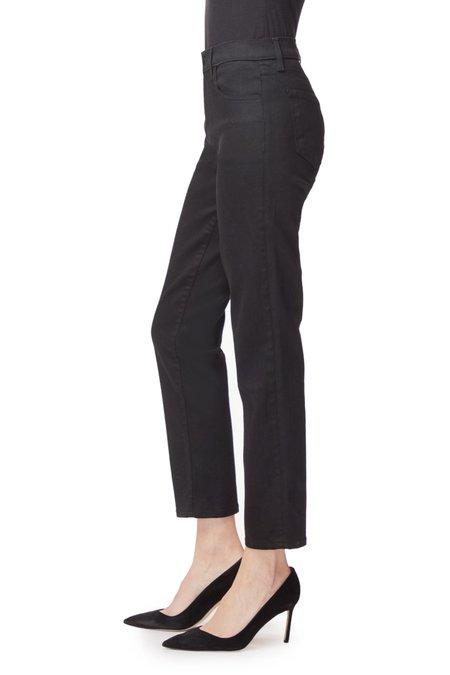 J Brand Adele Mid Rise Straight Vesper Jeans - Noir