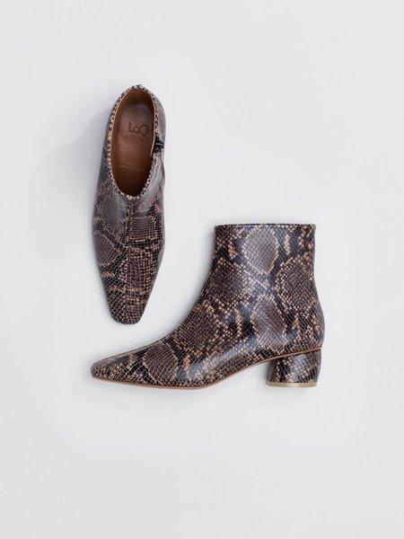 LOQ Matea Boot - Mink Python