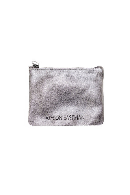 Alyson Eastman Small Pouch - Silver