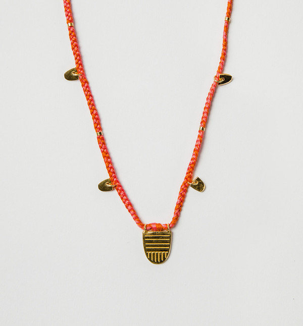 The Brave Collection Buddhist Flag Necklace