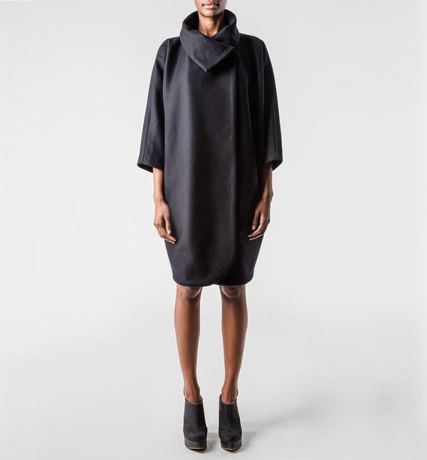 H. Fredriksson Caroline Coat Black