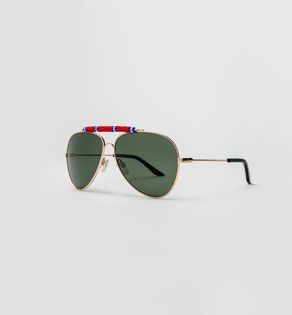 Michael Nelson Exclusive Sunglasses Red