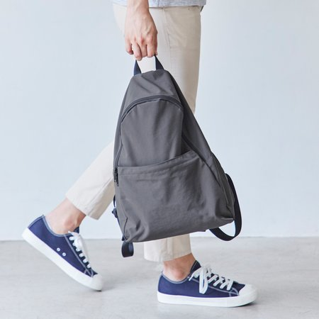 Unisex Poketo Packable Backpack - Charcoal