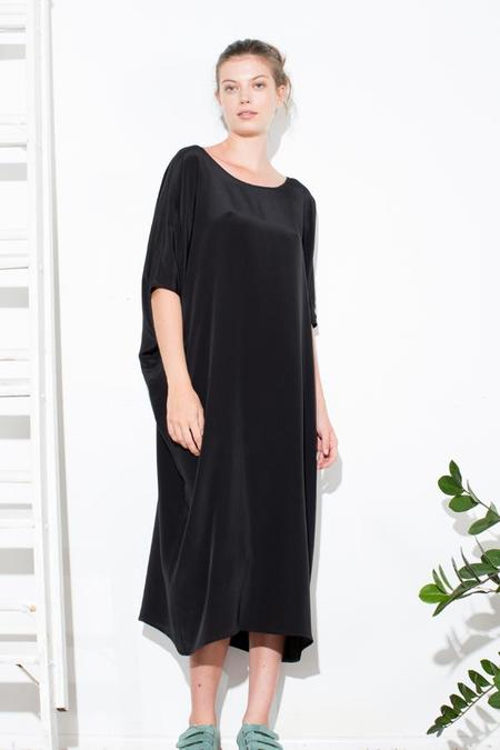 H. Fredriksson TUNIC DRESS - BLACK