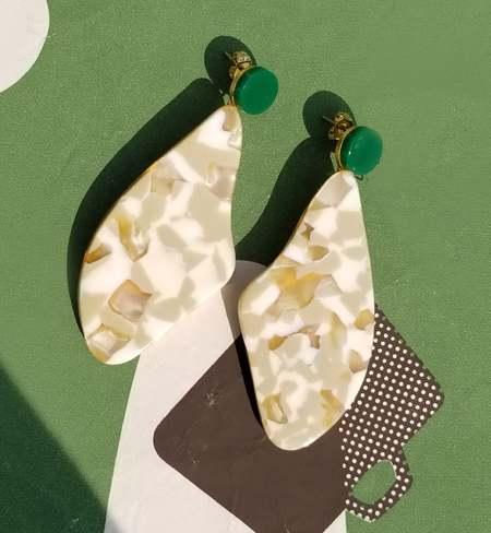 Matter Matters Lima Acrylic Earrings
