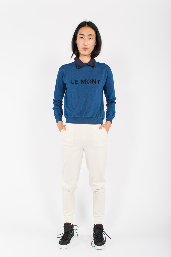 Le Mont St. Michel Embroidered Sweatshirt