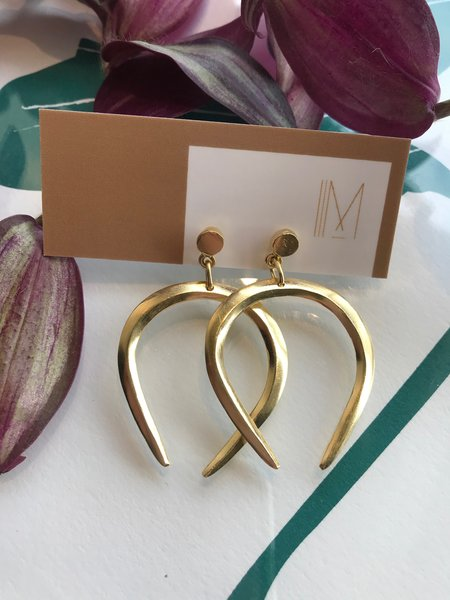 Mercurial NYC Libra Earrings - Gold Plated