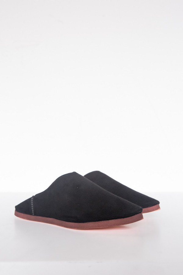 Carrie Forbes Suede Babouches Slipper
