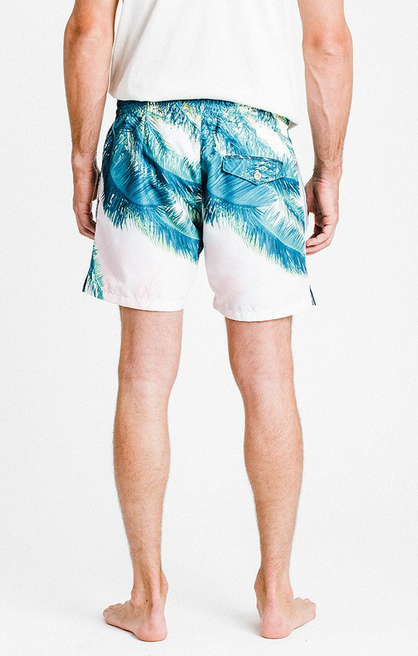 Men's Solangeles Sol Angeles - Palm Rose Dume Sub Volley Swimtrunks