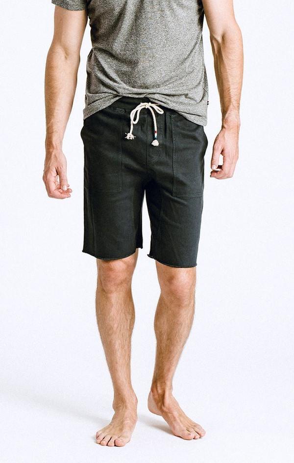 Men's Solangeles Sol Angeles - TWILL SADDLE SHORT - V BLACK