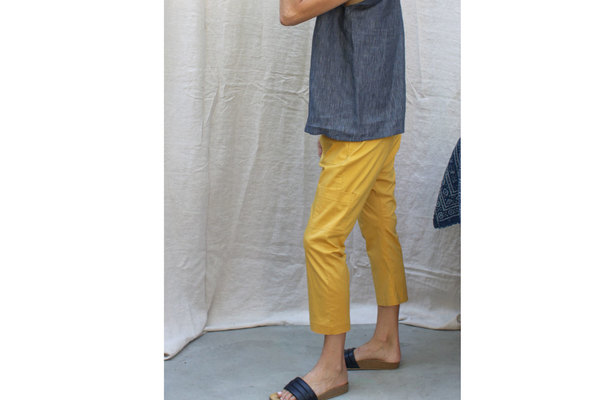 Fez Pant in Indian Yellow