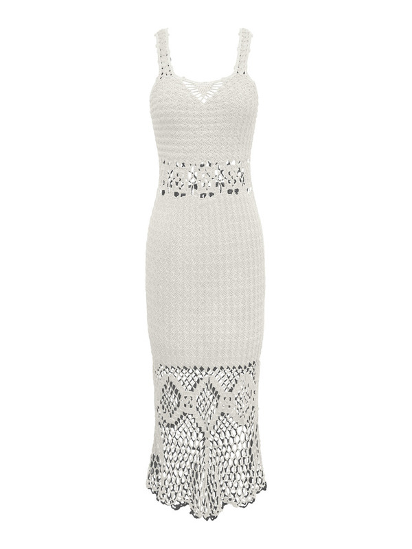 HARARE Crochet Long Dress (more colors!)