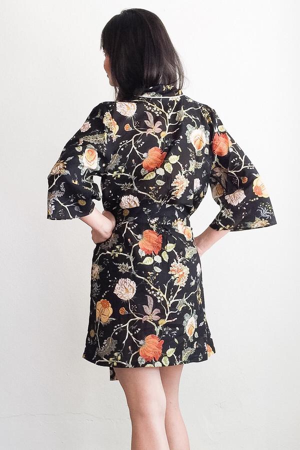 Salua Lingerie Birdies Cotton Robe