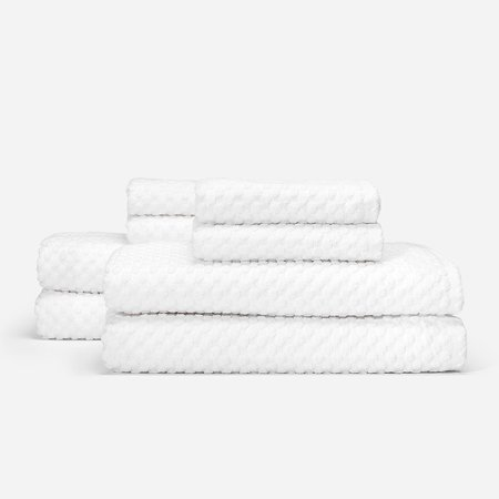 Slowtide Clive Four Piece Bundle Towel - White