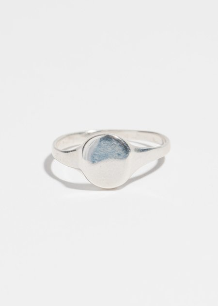 Jerry Grant Petite Signet Ring - Sterling Silver