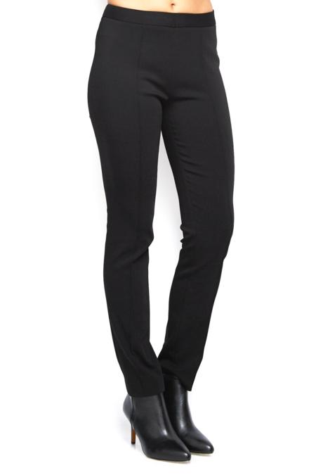 Partow Italian Stretch Skinny Trousers - Black