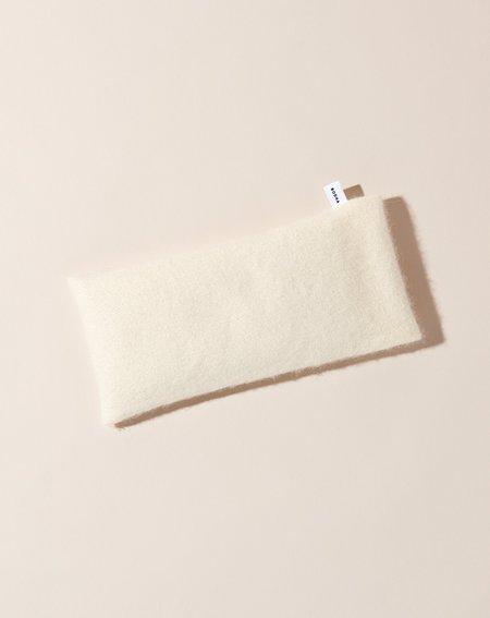 Bodha Cashmere Aromatherapy Eye Pillow - Cream